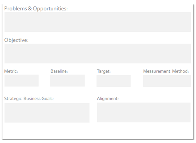 Stage 1 Business Analysis